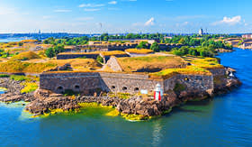 Azamara Club Cruises Suomenlinna Sveaborg sea fortress Helsinki Finland