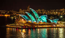 Azamara Club Cruises - Sydney Opera House at Night