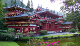 Byodo Temple in Hawaii