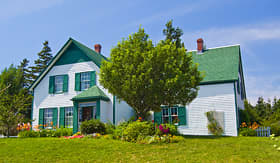 Green Gables in Prince Edward Island, Canada