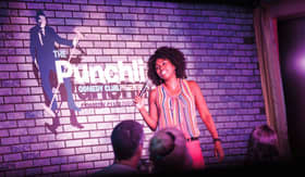 Carnival's Punchliners Comedy Club onboard Carnival Breeze
