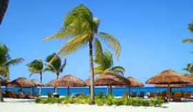 Beach in Cozumel, Mexico