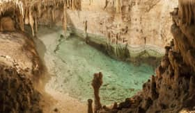 Caves of Drach in Palma de Mallorca, Spain