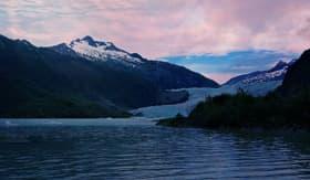 Carnival Cruise Lines Mendenhall Glacier scenic view