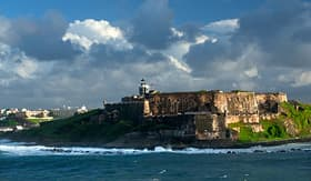 Carnival Cruise Lines old San Juan fort