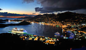 Carnival Cruise Lines St Thomas sunset cruise