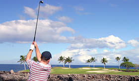 Carnival Cruise Lines tropical round of golf