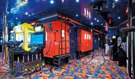 Carnival onboard activities Video Arcade