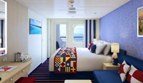 Family Harbor Staterooms aboard Carnival Panorama