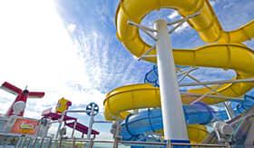 WaterWorks aboard Carnival Radiance