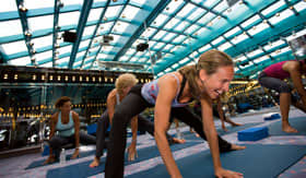 Carnival spa fitness Yoga and Pilates