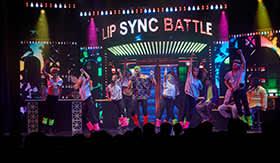 Lip Sync Battle aboard Carnival Spirit