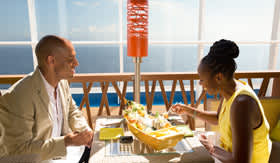 Bonsai restaurant onboard Carnival Sunrise