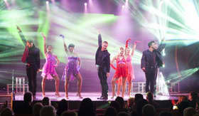 Playlist Productions show on Carnival Horizon