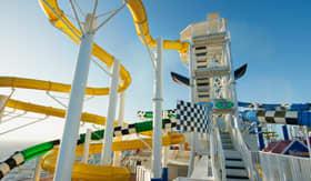 WaterWorks Aqua Park aboard Carnival Sunrise