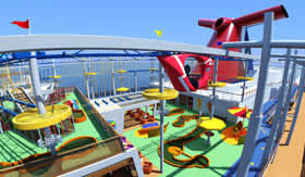 Carnival Vista Ropes Course
