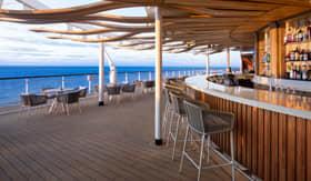The Sunset Bar aboard Celebrity Summit