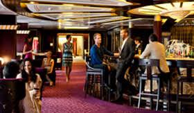 Celebity onboard activities Ensemble Lounge