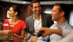 Celebity onboard activities Michaels Club