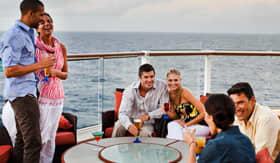 Celebity onboard activities Sunset Bar