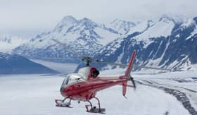 Celebrity Cruises Helicopter Glacier Tour