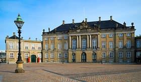 Celebrity Cruises Amalienborg Palace in Copenhagen, Denmark