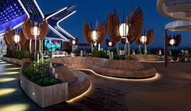 Rooftop Garden aboard Celebrity Apex