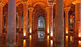 Celebrity Cruises Basilica Cistern Istanbul Turkey