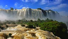 Celebrity Cruises brazilian side at the Iguazu Falls