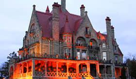 Celebrity Cruises Craigdarroch Castle Victoria British Columbia