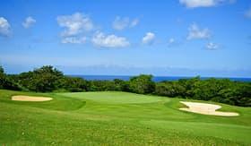 Celebrity Cruises golf course in Barbados