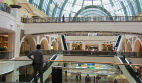 Glass Ceiling at Mall of the Emirates