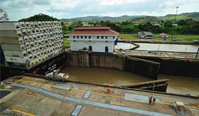 Celebrity Cruises Miraflores Locks Panama Canal