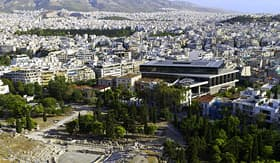 Celebrity Cruises new Acropolis Museum Athens Greece