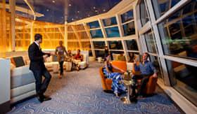 Celebrity Cruises Observation Lounge