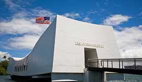 Celebrity Cruises USS Arizona Memorial in Pearl Harbor