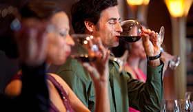 Celebrity Cruises variety of wines to taste