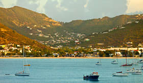 Celebrity Cruises view of Philipsburg St Martin from the sea