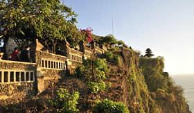 Celebrity Cruises view of Uluwatu Temple Benoa Bali Indonesia