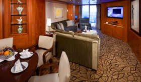 Celebrity staterooms Royal Suite