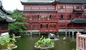 Garden in Old Town Shanghai