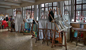 Silk Weaving in Shanghai