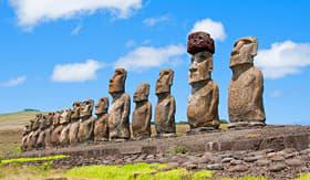 Crystal Cruises Ahu Tahai ruins on Easter Island