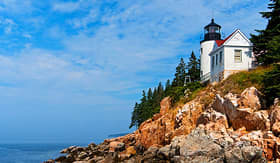 Crystal Cruises Bass Harbor Lighthouse Maine Acadia National Park
