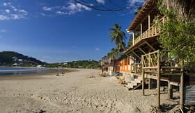 Crystal Cruises beach in San Juan del Sur Nicaragua