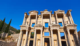 Crystal Cruises Celsus Library Ephesus Turkey