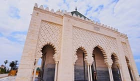 Crystal Cruises Mausoleum of King Mohammed V Rabat Morocco Africa