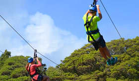 Crystal Cruises - Zip Line in Mexico