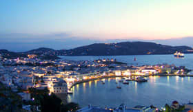 Crystal Cruises - Mykonos, Greece