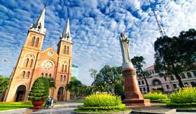 Crystal Cruises Notre Dame Cathedral Ho Chi Minh City Vietnam